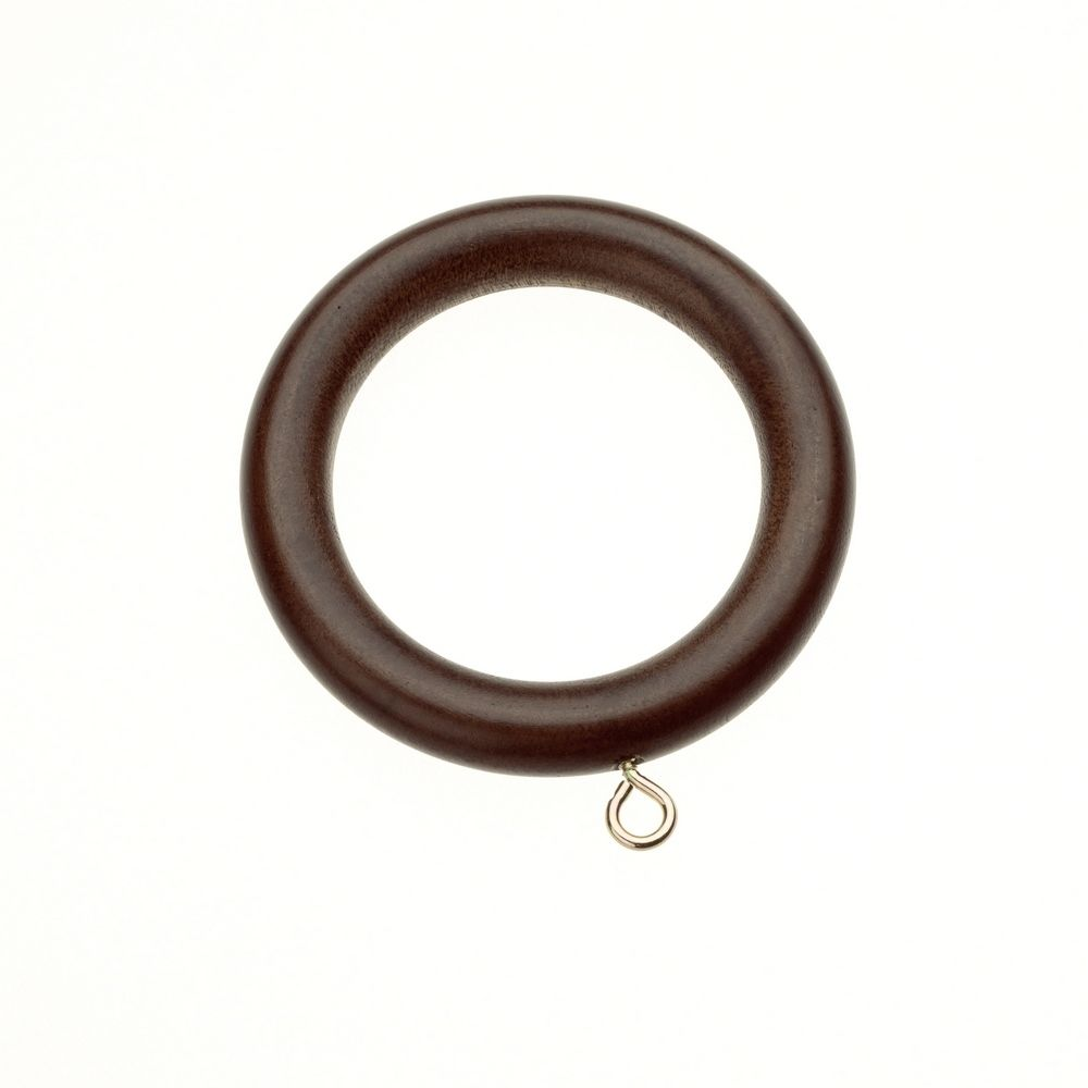 Swish Naturals 35mm Wooden Curtain Rings Pack Of 4