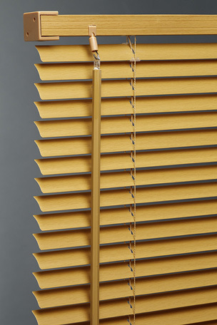Teak PVC Wood Effect Venetian Blind